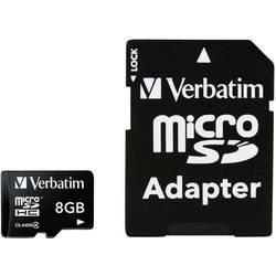 Kartica microSDHC Verbatim, 8GB, razred 4 43967