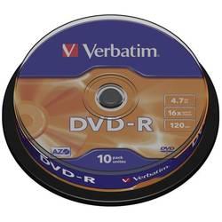 DVD-R prazni Verbatim 43523 4.7 GB 10 kom. okrugla kutija