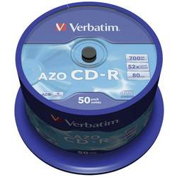 CD-R prazni Verbatim 43343 700 MB 50 kom. okrugla kutija
