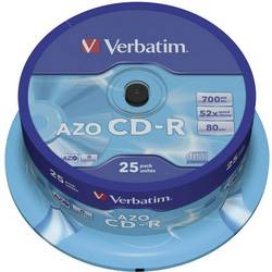 CD-R prazni Verbatim 43352 700 MB 25 kom. okrugla kutija