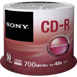 CD-R prazni Sony 50CDQ80SP 700 MB 50 kom. okrugla kutija