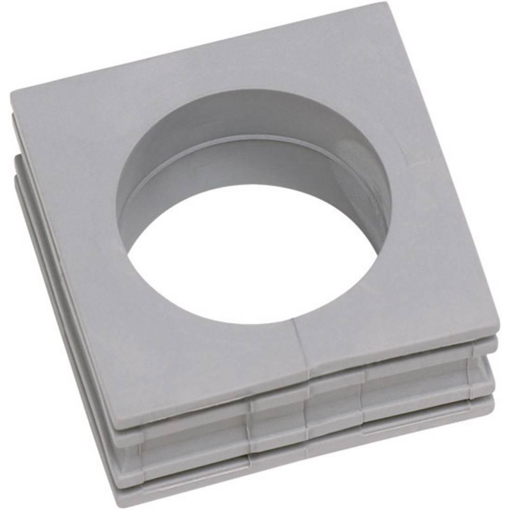 Icotek Kabelska kapa KT velika, KT 27 za kabel- 27 - 28 mm, elastomer, siva