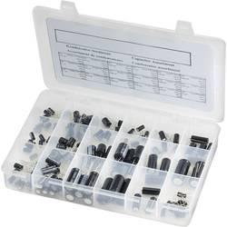 TRU COMPONENTS sortiment elektrolitskih kondenzatora, aksijalno ožičeni 20 % 121 kom.