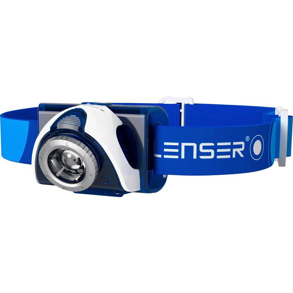 LED naglavna svjetiljka Ledlenser SEO 7R akumulator 93 g plava 6107-R