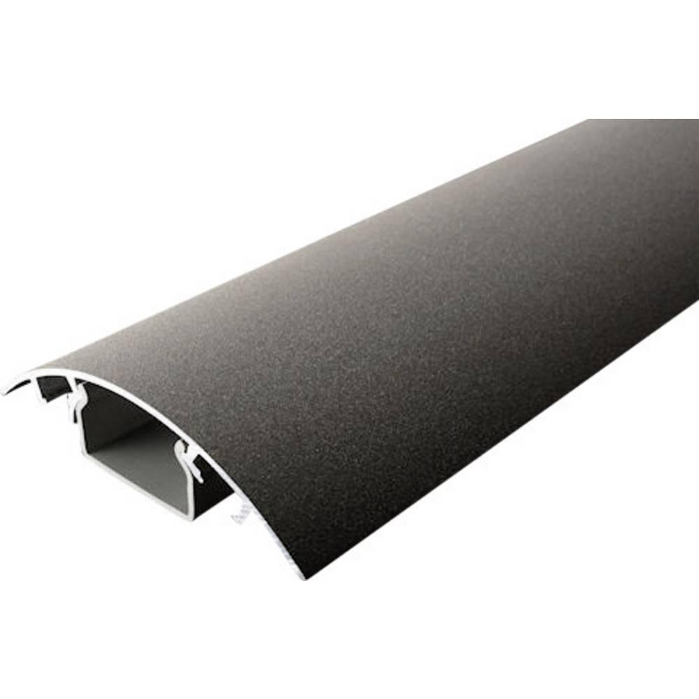 Kabelski kanal (D x Š x V) 1000 x 80 x 20 mm surovo železo (mat) Alunovo vsebina: 1 kos