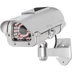 Neprava nadzorna kamera s solarnim modulom in lažno IR-lučko
