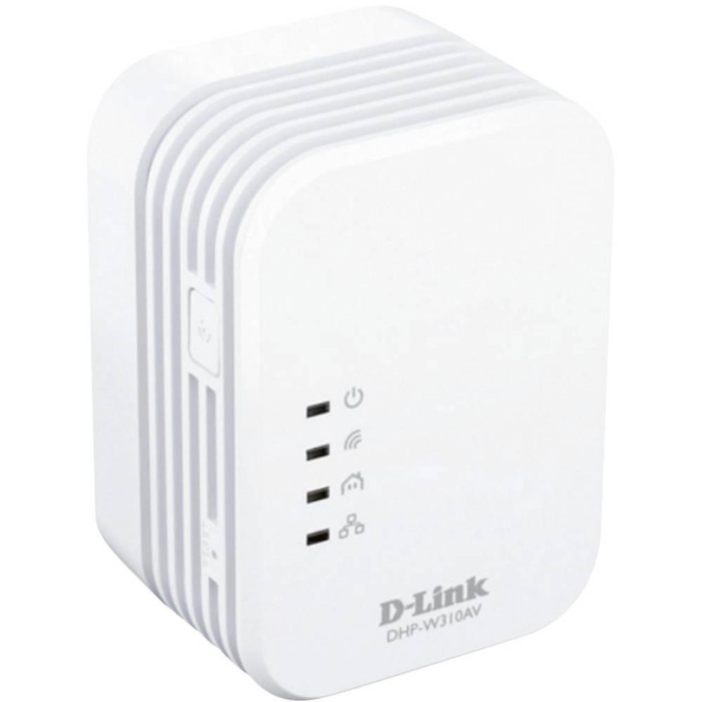Posamezni Powerline adapter D-Link DHP-W310AV PowerLine AV 500, Wireless N, WLAN N300