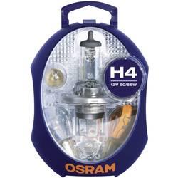Avtomobilski komplet nadomestnih žarnic Osram H4 12 V 1 kos, P43t (D x Š x V) 115 x 90 x 60 mm