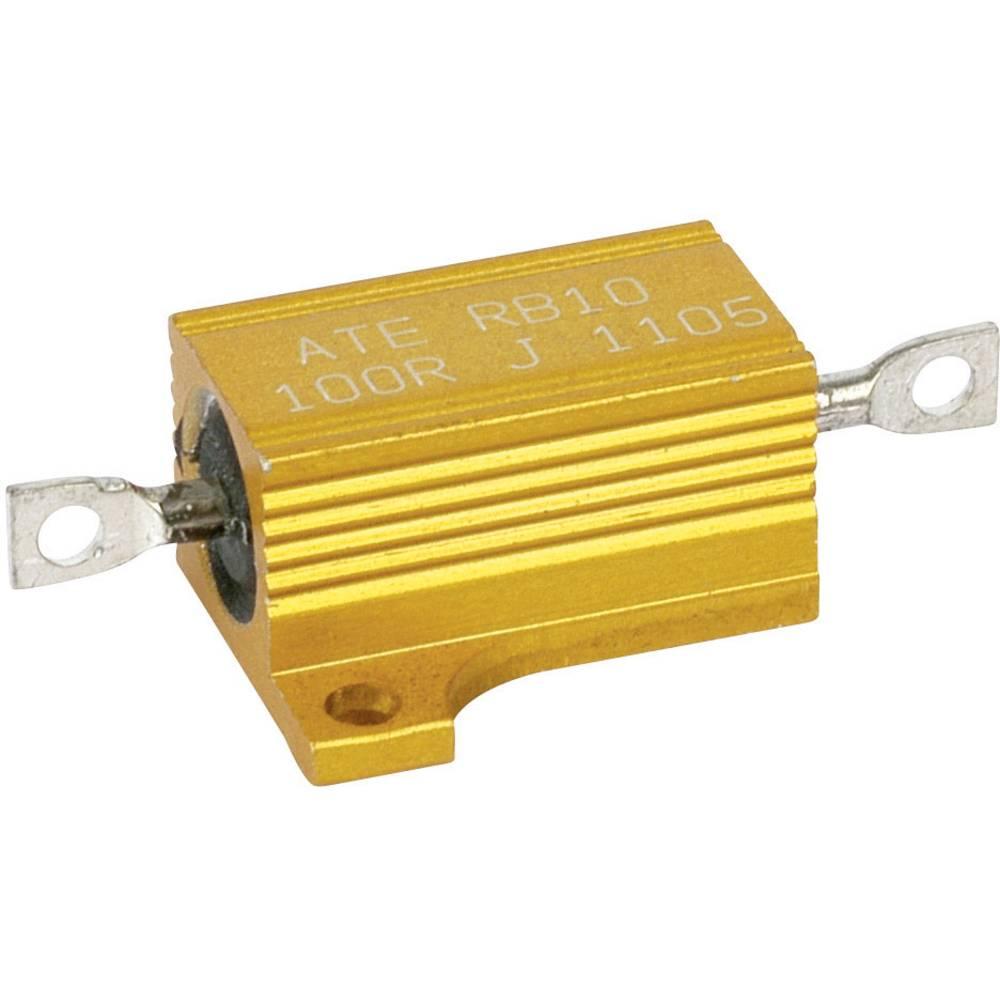 Žični upor 2.2 Ohm aksialno ožičen 12 W ATE Electronics RB10/1-2R2-J 1 kos