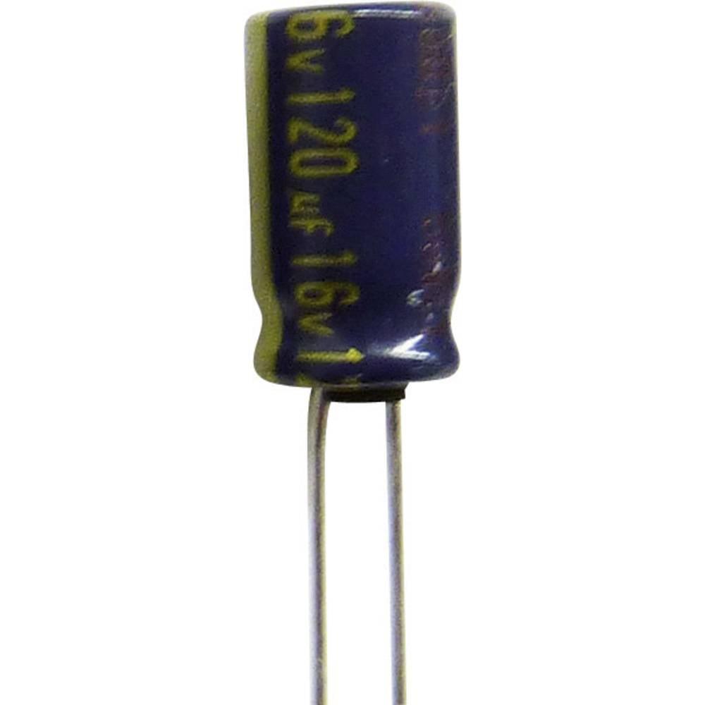 Elektrolitski kondenzator, radijalno ožičen 5 mm 4700 µF 10 V/DC 20 % (promjer x V) 12.5 mm x 30 mm Panasonic EEUFR1A472L