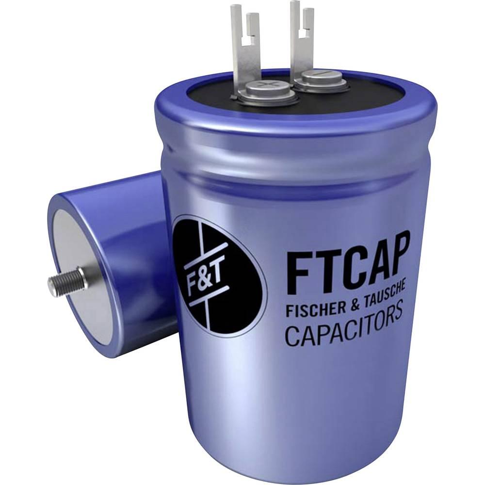 F & T Niskovoltni elektrolitski kondenzator (OxV) 30mm x 36mm 2200F 63 V/DC LFB22206330036