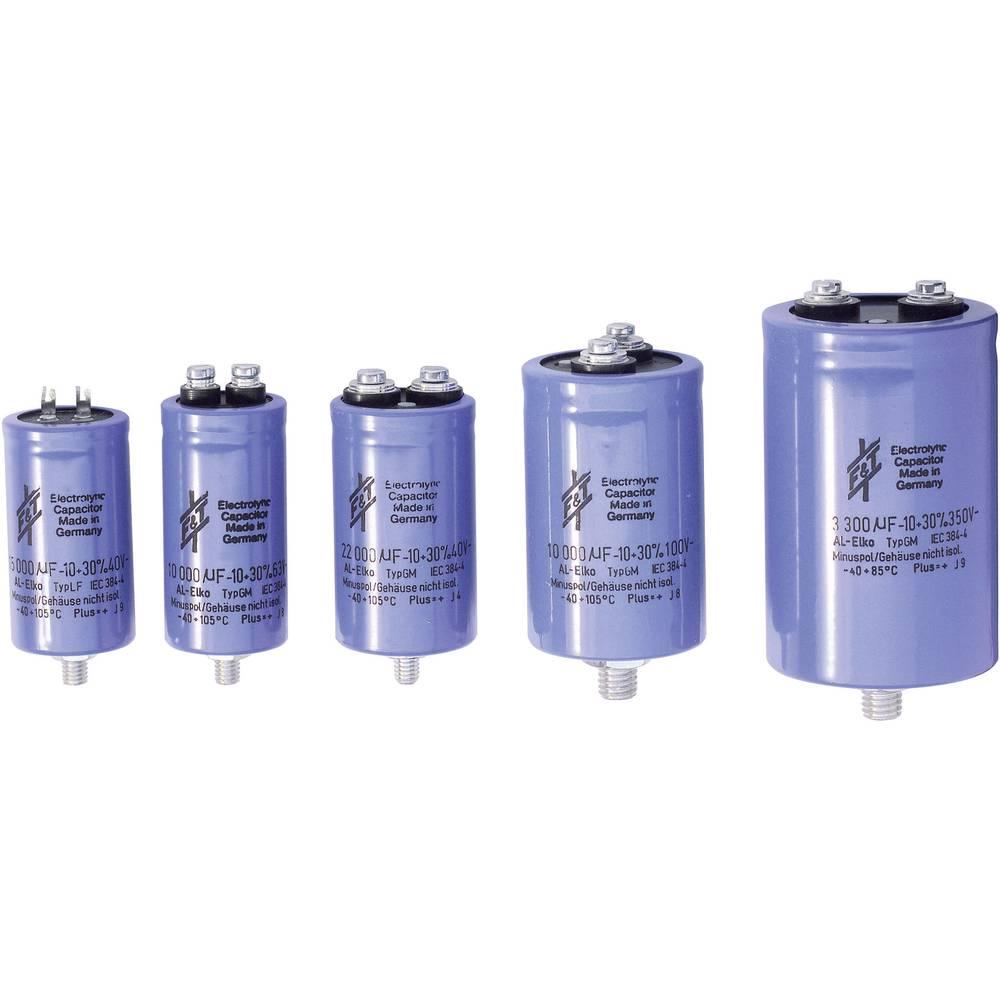 F & T Visoko kapacitetni kondenzator (O x D) 65mm x 80mm,raster - 68000 uF 40 V GMB68304065080