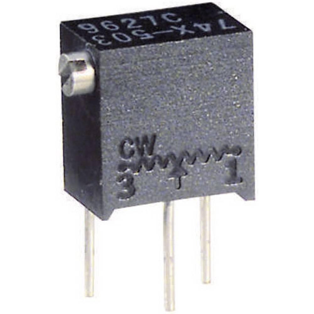 Vishay večpodročni trimer potenciometer 74X 20K nastavek zgoraj tip 74 X 20 kOhm 0,25 W +1