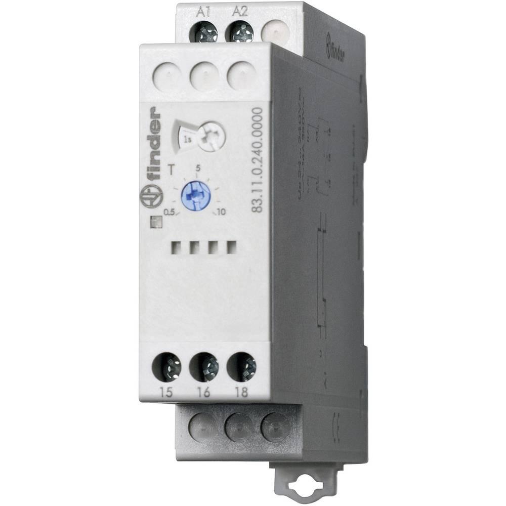 Industrijski časovni rele 83.11.0.240.0000 Finder 24 - 240 V DC/AC 1 izmenjevalnik 16 A maks. 400 V/AC