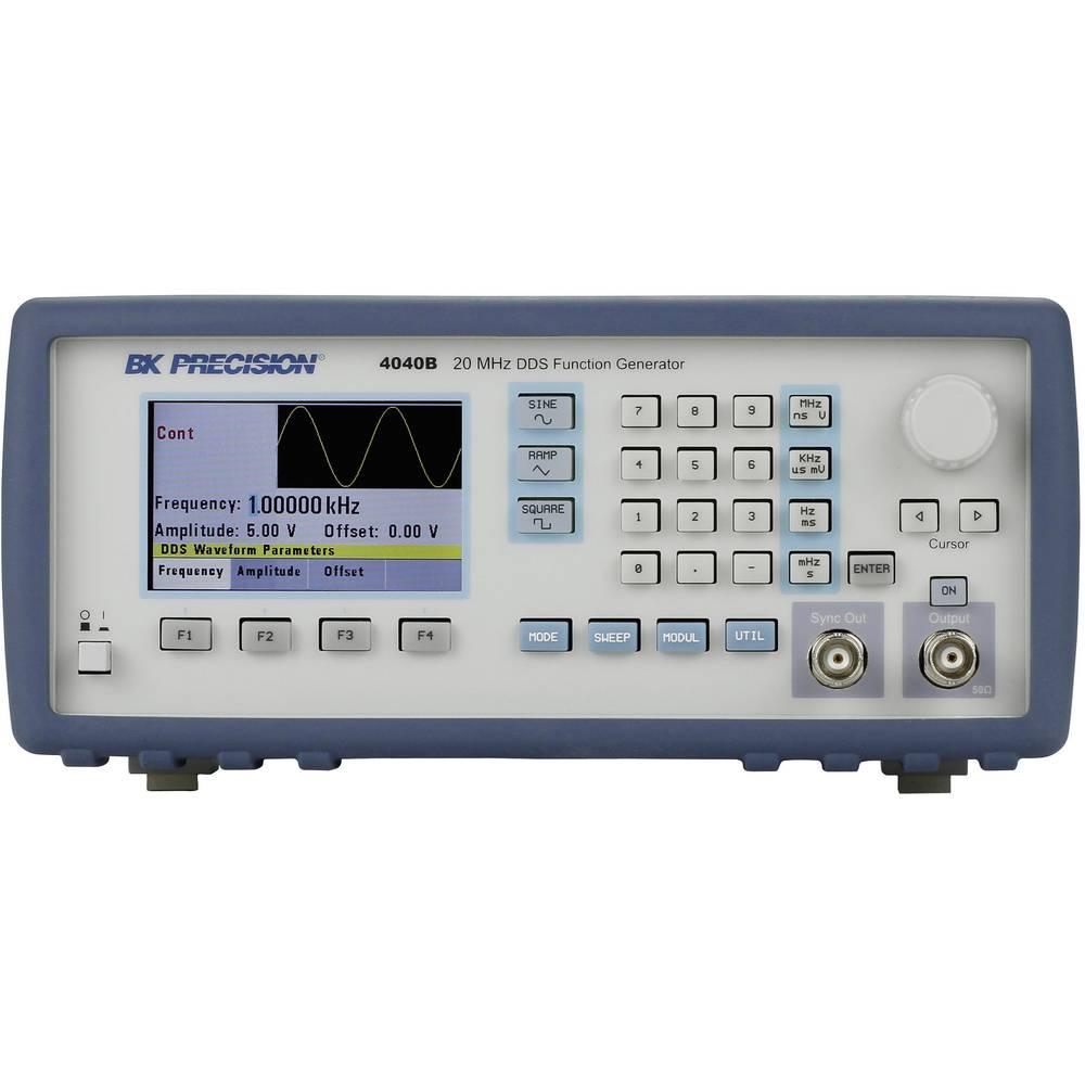 BK Precision 4040B DDS funkcijski generator, 0.01 Hz - 20 MHz, sinus, pravi kut, trokut