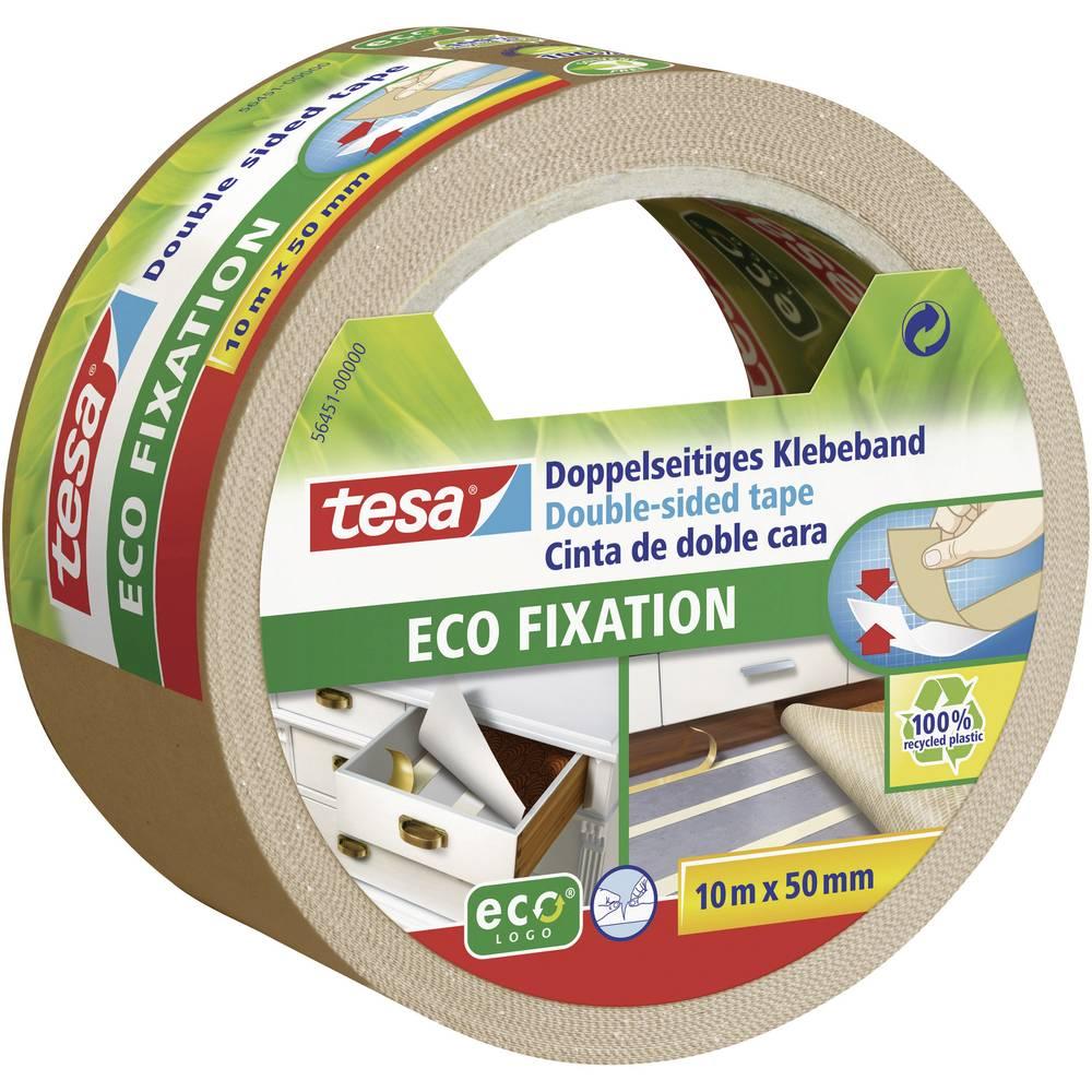 Dvostrana ljepljiva traka TESA Tesa® ECO FIXATION (D x Š) 10 m x 50 mm sadržaj: 1 rola