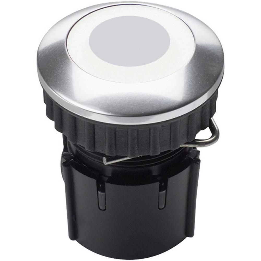 Tipka za zvono jednostruka Grothe 63222 plemeniti čelik 24 V/1,5 A