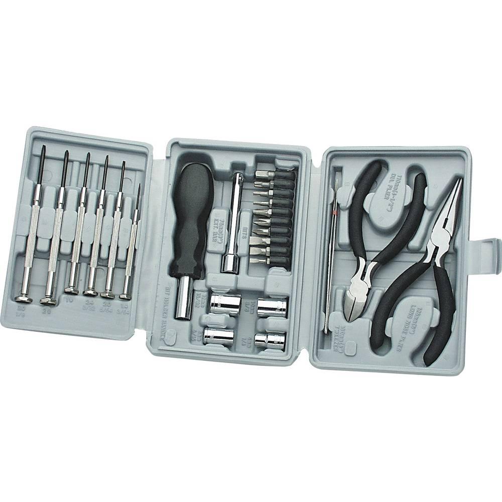 Hantverkare Verktygsset i väska 25 delar Basetech 432547