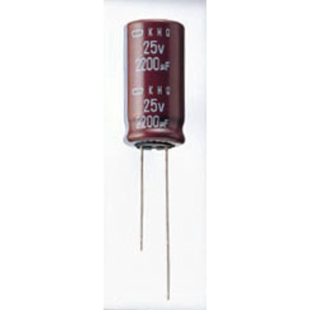 Elektrolitski kondenzator, radijalno ožičen 10 mm 390 µF 250 V 20 % (promjer x D) 25.4 mm x 25 mm Europe ChemiCon EKMQ251V