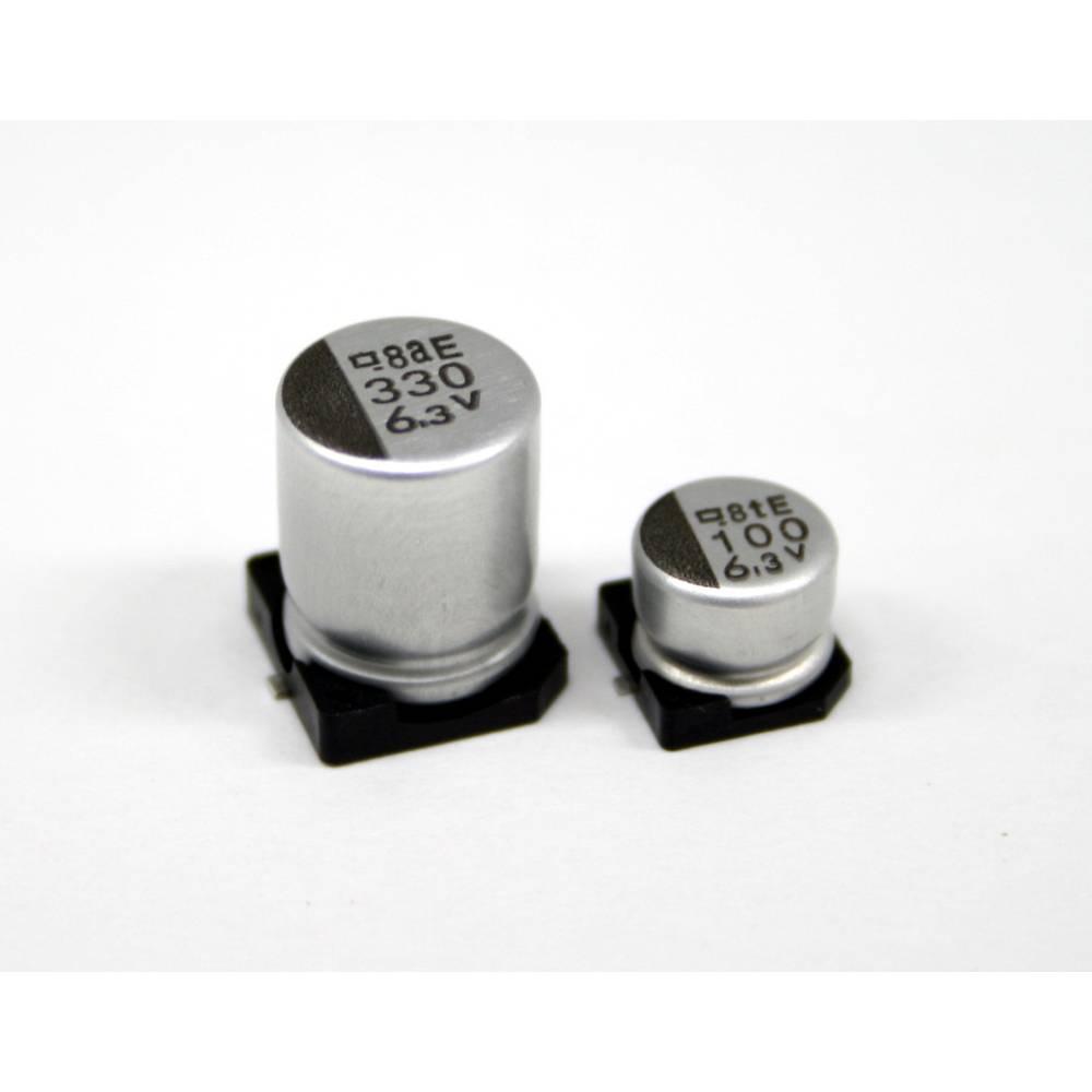 Elektrolitski kondenzator SMD 330 µF 35 V 20 % (promjer x D) 10 mm x 10 mm Europe ChemiCon EMVA350ADA331MJA0G 500 kom.