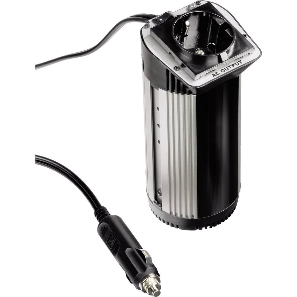 Razsmernik Hama Safety 100W 100 W 12 V/DC 12 V/DC (10 - 15 V/DC) brez ventilatorja, vtič za cigaretni vžigalnik, varnostna vtičn