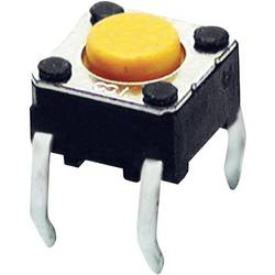 Pritisna tipka 24 V/DC 0.05 A 1 x izklop/(vklop) Omron B3F1002 tipkalno 1 kos