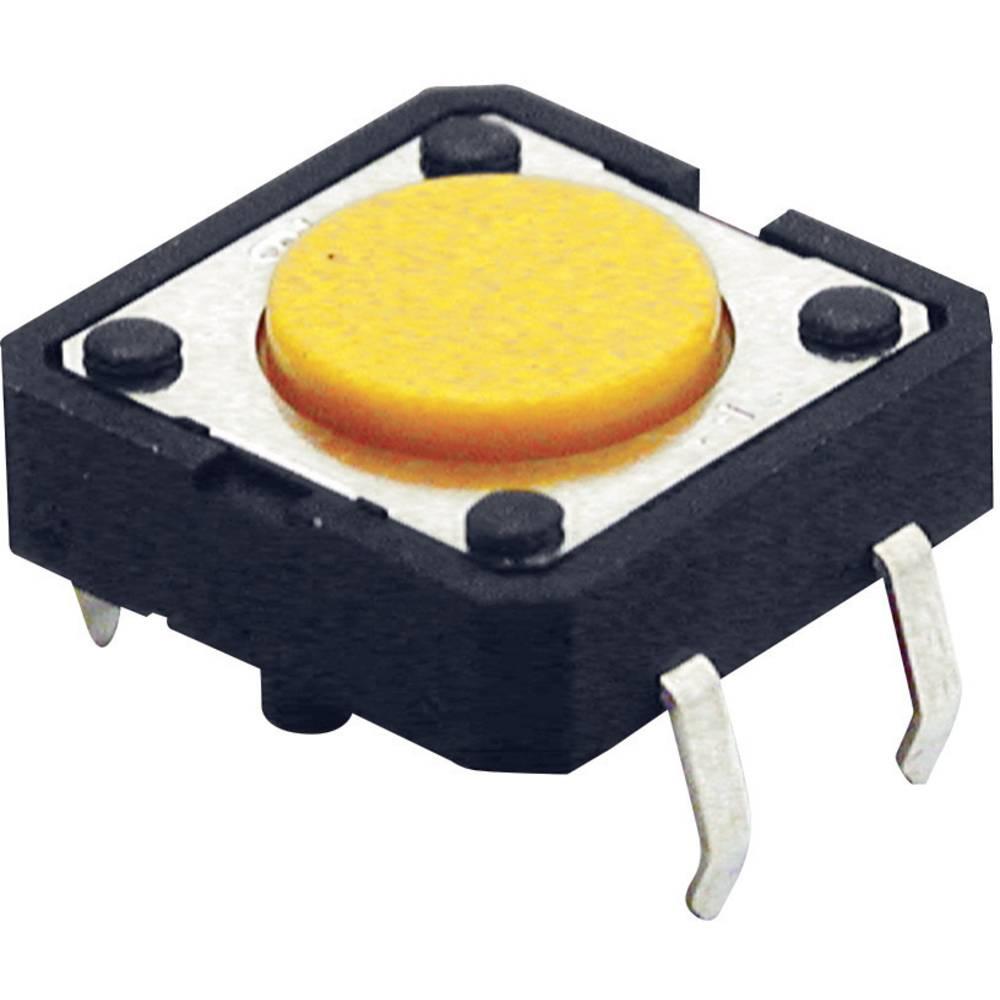 Pritisna tipka 24 V/DC 0.05 A 1 x izklop/(vklop) Omron B3F4000 tipkalno 1 kos