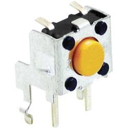 Pritisni gumb 24 V/DC 0.05 A 1 x izklop/vklop Omron B3F3152 tipkalni 1 kos