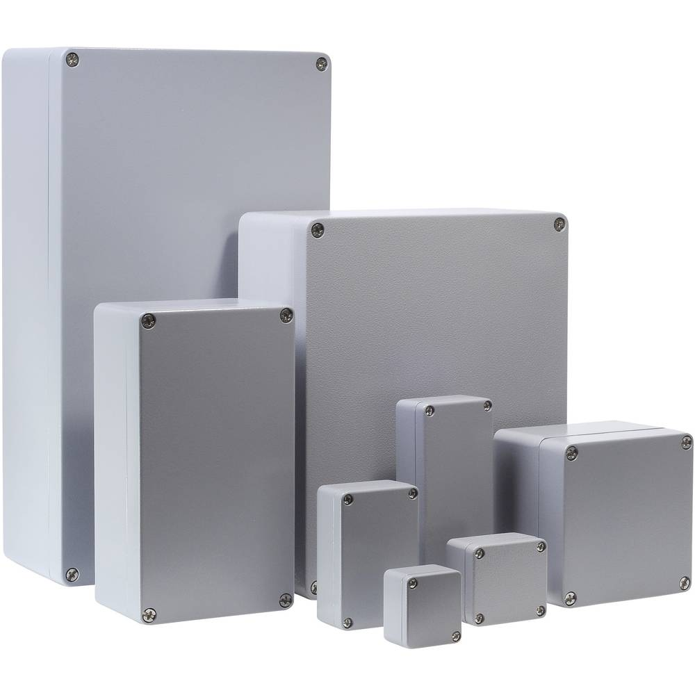 Universalkabinet 220 x 122 x 90 Aluminium Sølvgrå (RAL 7001) Bernstein AG CA-235 1 stk