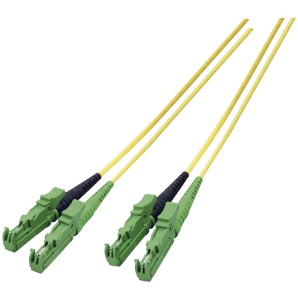 Optični priključni kabel [1x E2000®/APC 8° vtič - 1x E2000®/APC 8° vtič] 9/125µ Singlemode OS2 2 m EFB Elektronik