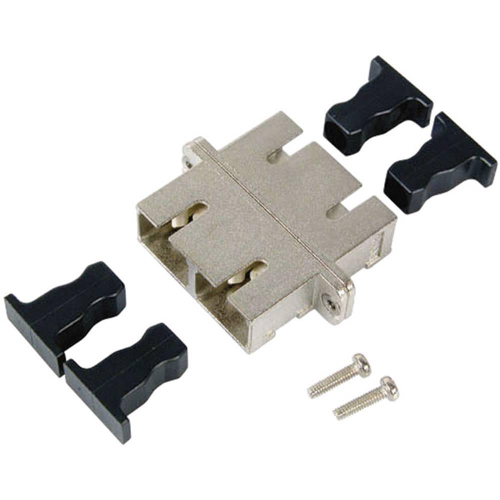 LWL sklopka EFB Elektronik SC/SC-Duplex APC Singlemode metalno kućište