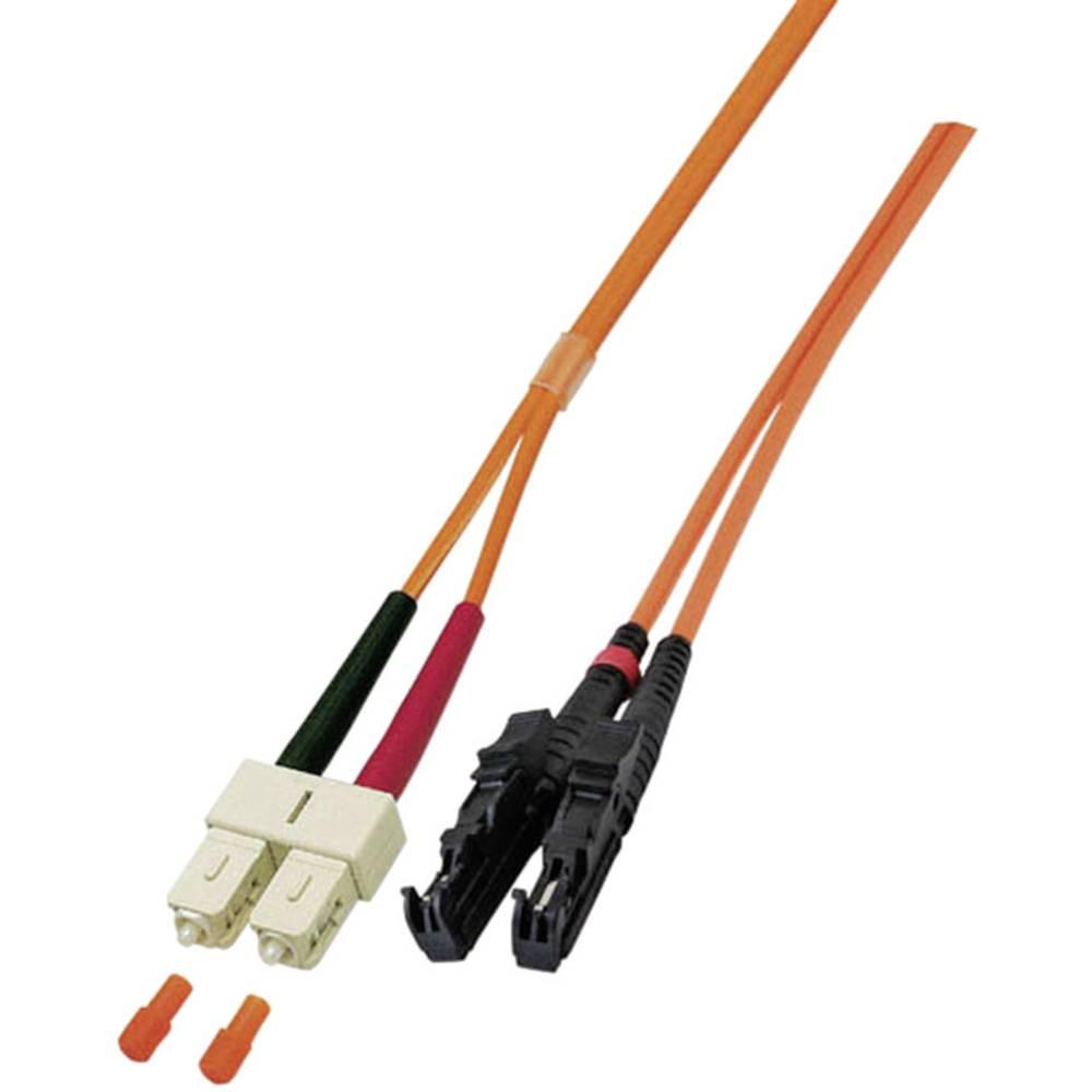 Optični priključni kabel [1x E2000® vtič - 1x SC vtič] 9/125µ Singlemode OS2 2 m EFB Elektronik