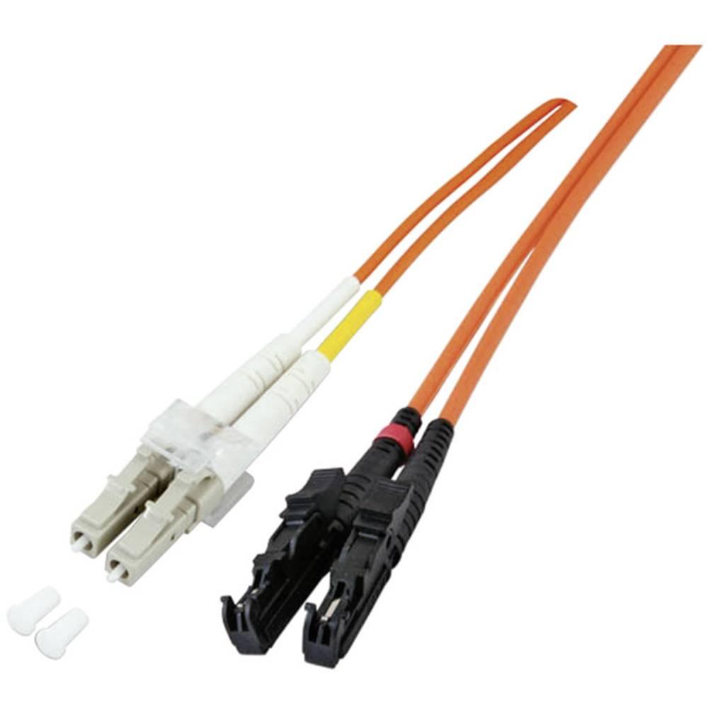 Optični priključni kabel [1x LC vtič - 1x E2000® vtič] 9/125µ Singlemode OS2 1 m EFB Elektronik