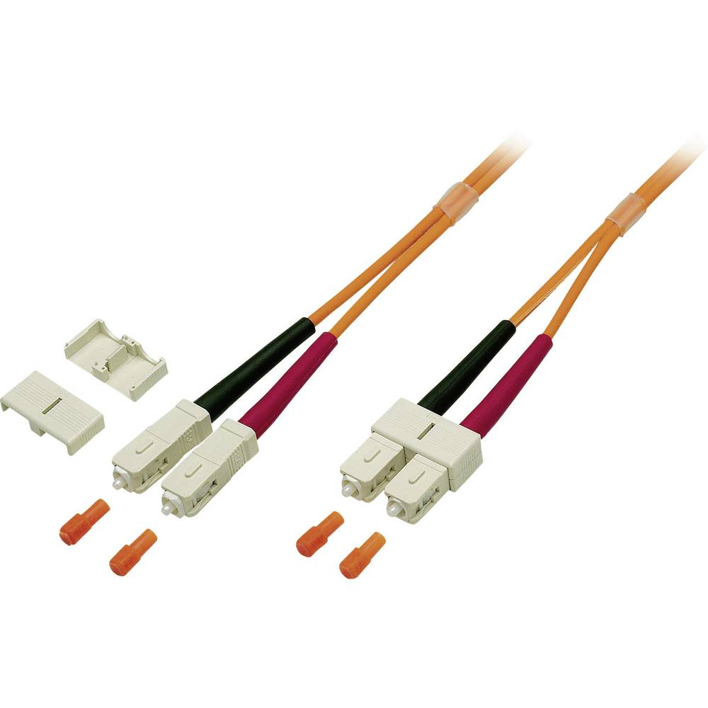 Optični priključni kabel [1x SC vtič - 1x SC vtič] 50/125µ Multimode OM2 5 m EFB Elektronik