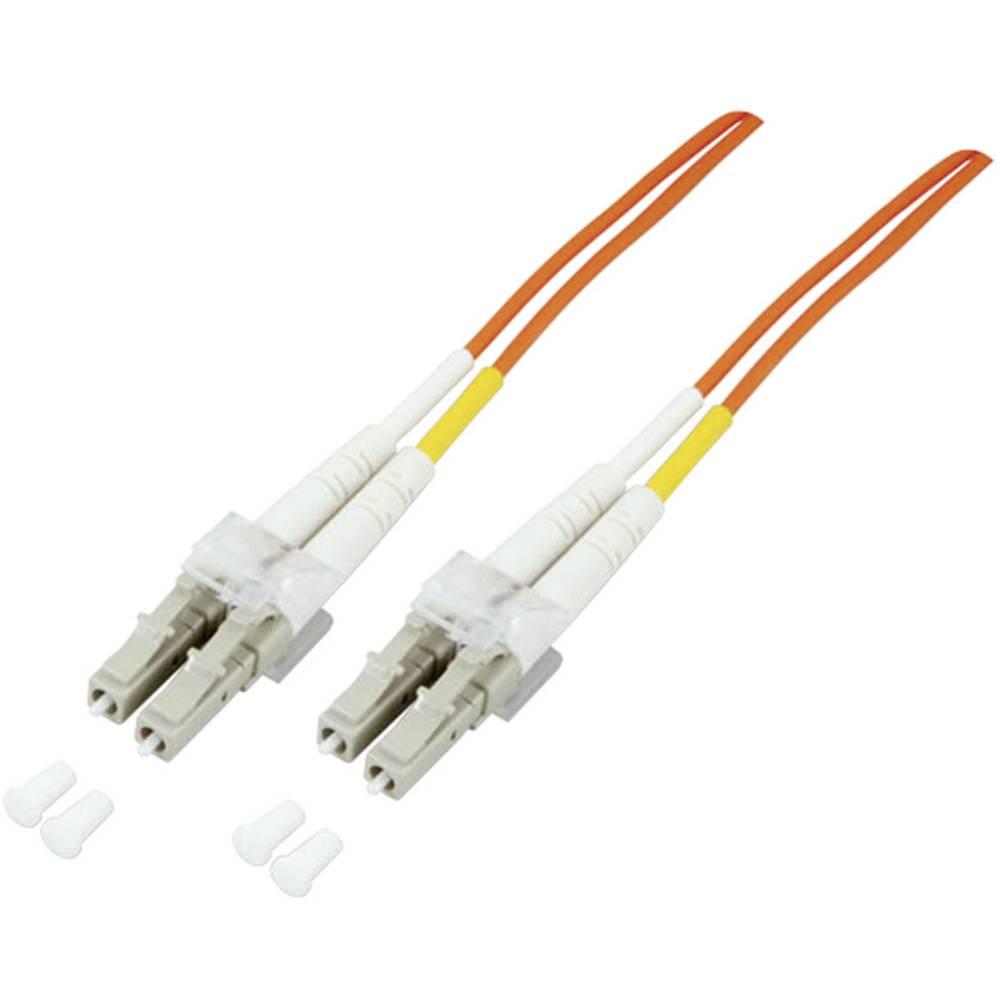 Glasfaser LWL priključni kabel [1x LC-vtič - 1x LC-vtič] 50/125µ večnačinski OM3 2 m EFB Elektronik