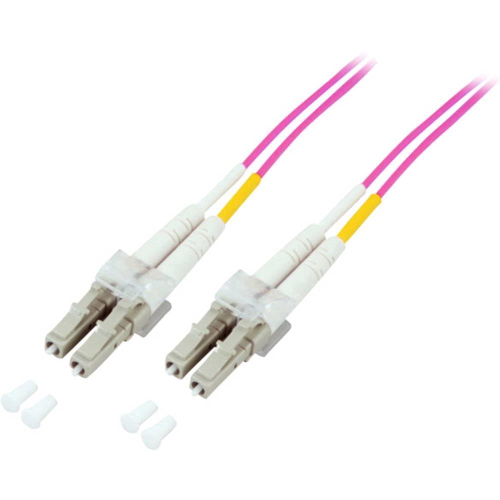 Optički kabel EFB Elektronik [1x LC utikač - 1x LC utikač] 50/125µ Multimode OM4 2 m