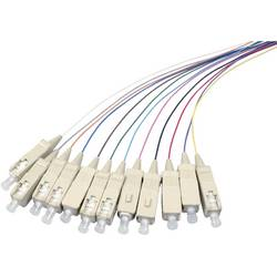 Optični priključni kabel [1x SC vtič - 1x odprti konec] 9/125µ Singlemode OS2 2 m EFB Elektronik