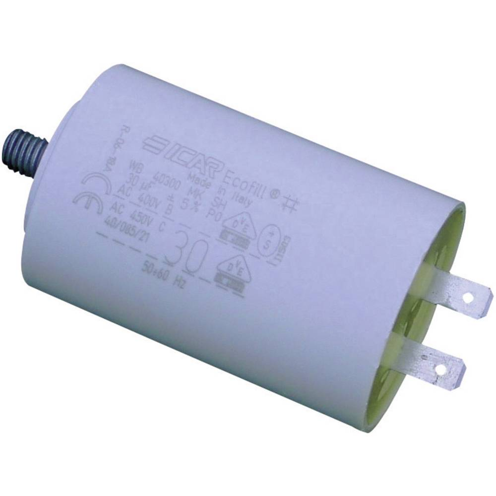 MKP-motorni kondenzator Steckanschluss 8 µF 450 V/AC 5 % ( x H) 30 mm x 71 mm WB4080/A 1 kos
