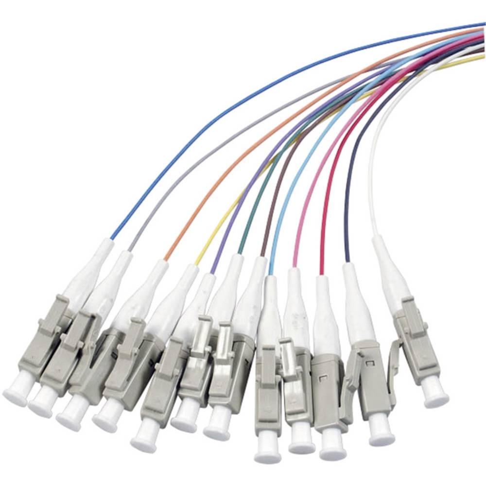Optični priključni kabel [1x LC vtič - 1x odprti konec] 9/125µ Singlemode OS2 2 m EFB Elektronik
