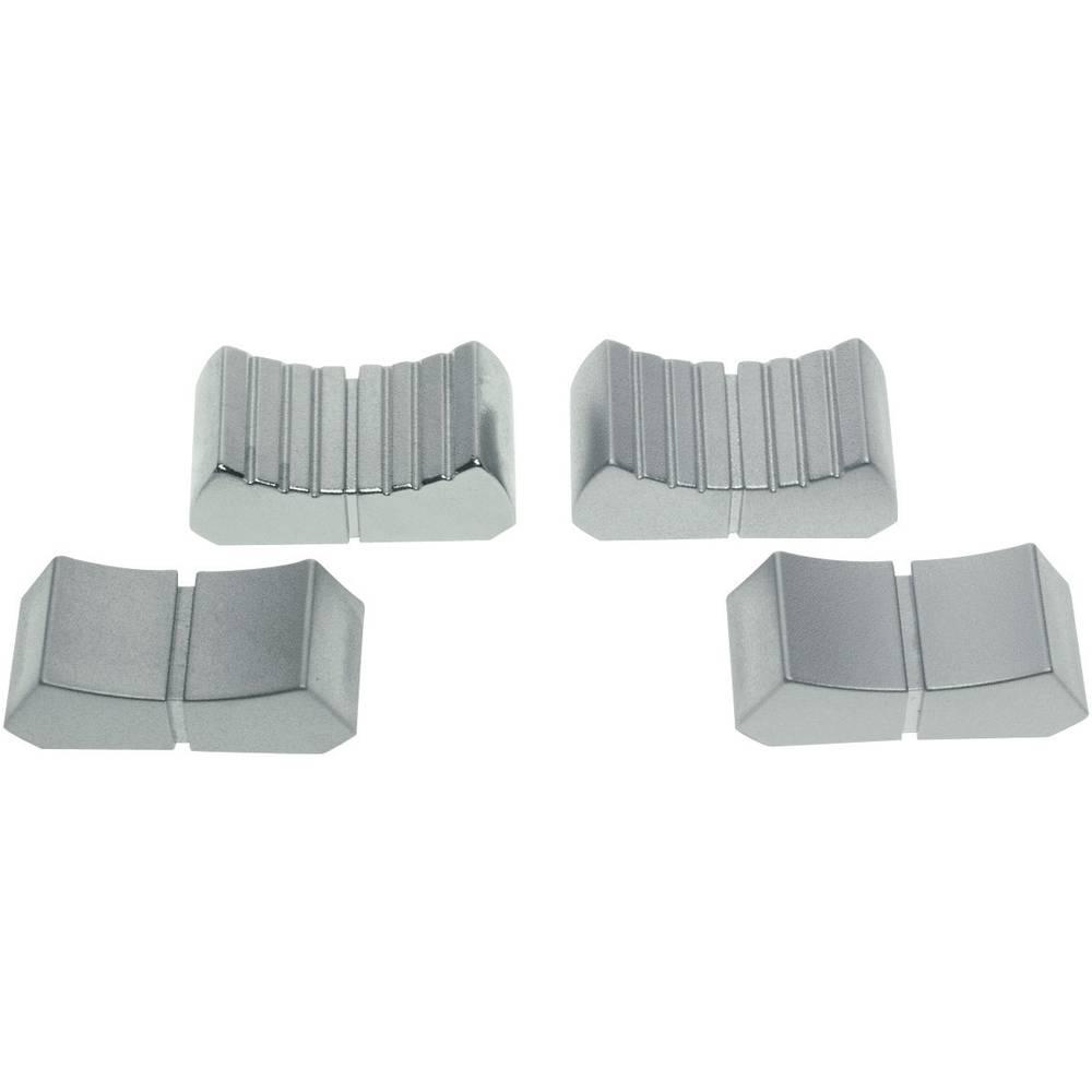 ALPS klizni gumb (D x Ĺ ) 12mmx26mm Velur-krom 76655