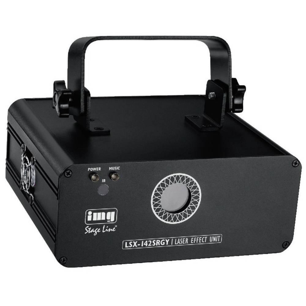 DMX laser za svetlobne učinke IMG Stage Line LSX-142SRGY