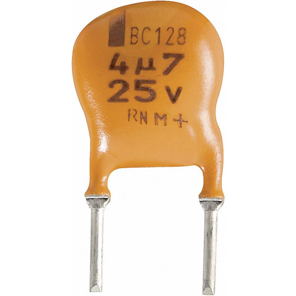 Vishay Radijalni kondenzator (OxV) 10mm x 8mm raster 5mm 4.7F 25 V 2222 128 36478