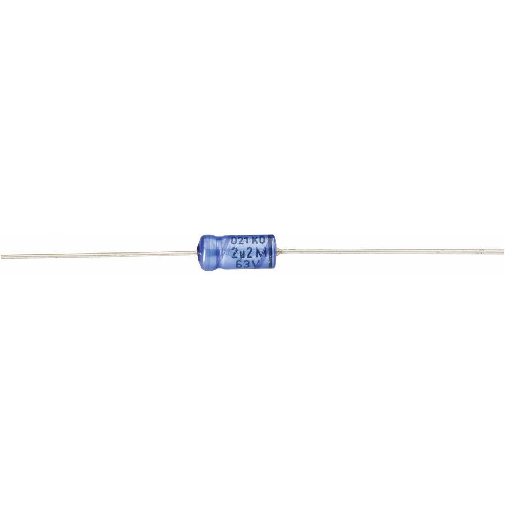 Vishay Aksijalni kondenzator serije 021 2222 021 27102 (Š xD) 12.5 mm x 30 mm