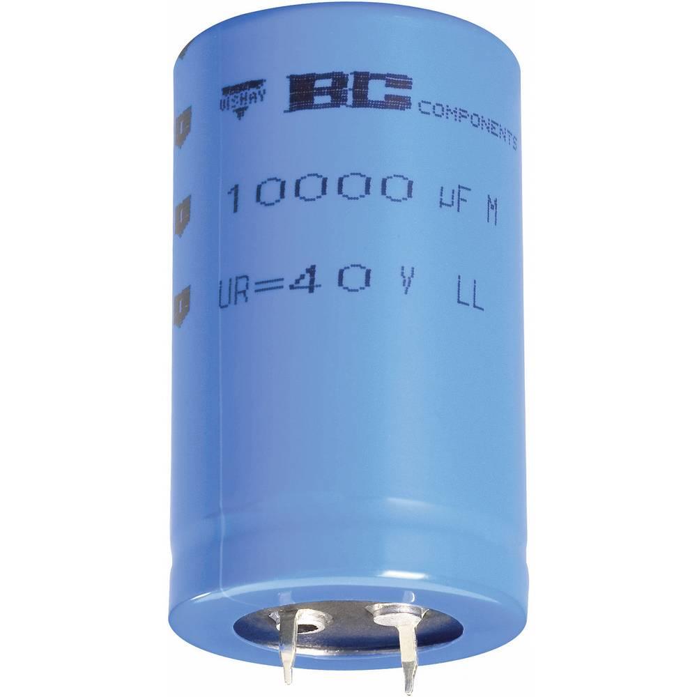 Elektrolitski kondenzator SnapIn 10 mm 4700 µF 63 V 20 % (premer x V) 35 mm x 40 mm Vishay 2222 058 58332 1 kos