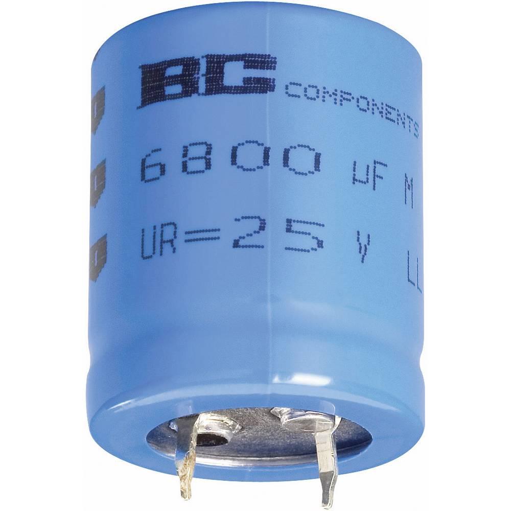 Elektrolitski kondenzator SnapIn 10 mm 22000 µF 40 V 20 % (premer x V) 35 mm x 50 mm Vishay 2222 056 57223 1 kos