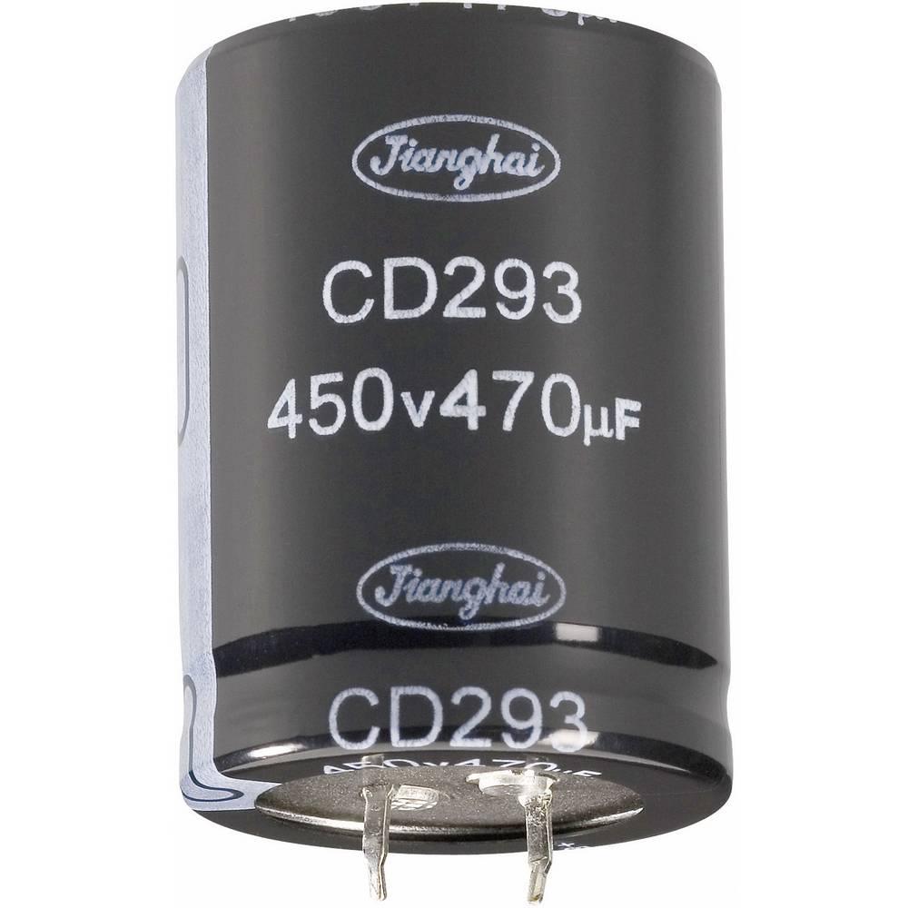Jianghai Long-Life Zaskočni kondenzator (OxV) 30mm x 30mm 22000F 16 V ECS1CBZ223MT6P23030