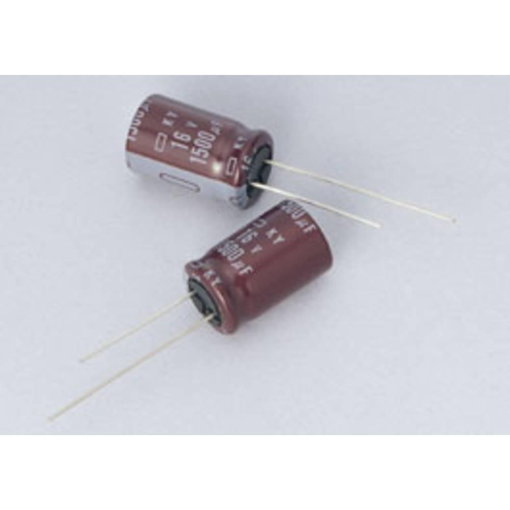 Elektrolitski kondenzator, radijalno ožičen 5 mm 470 µF 16 V/DC 20 % (promjer x D) 10 mm x 12.5 mm Europe ChemiCon EKY-160