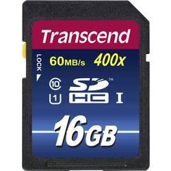 SDHC-Kort Transcend Premium 400 Class 10, UHS-I 16 GB