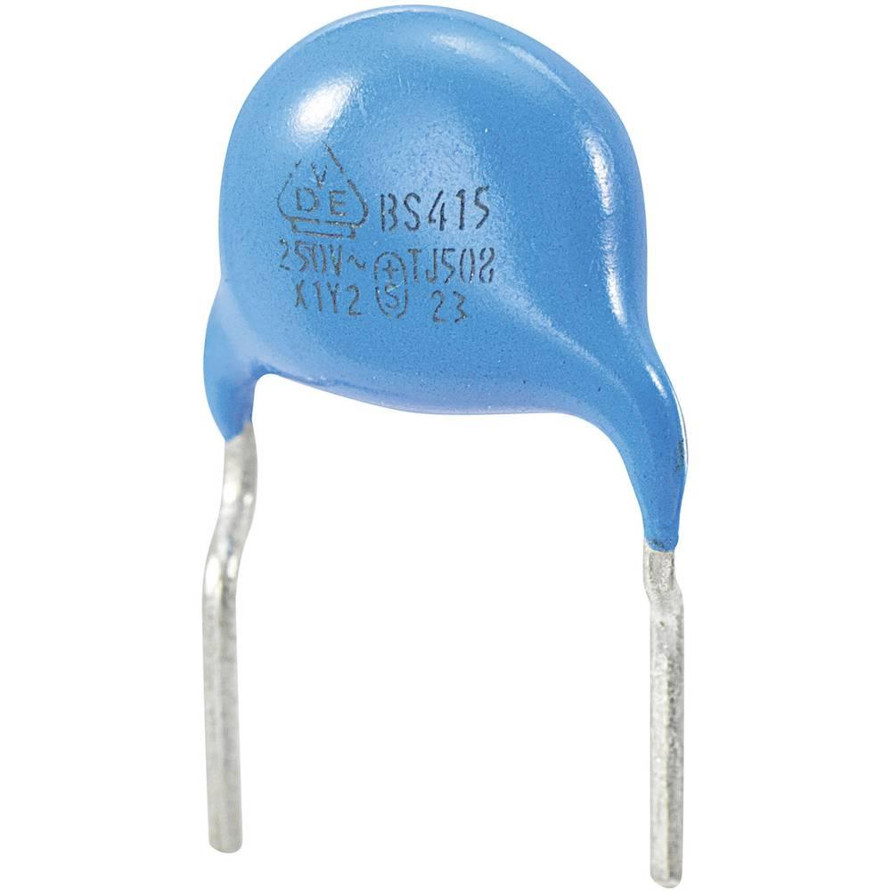 Keramički kondenzator Y2 raster 7.5 mm 150 pF 250 VAC 10 %