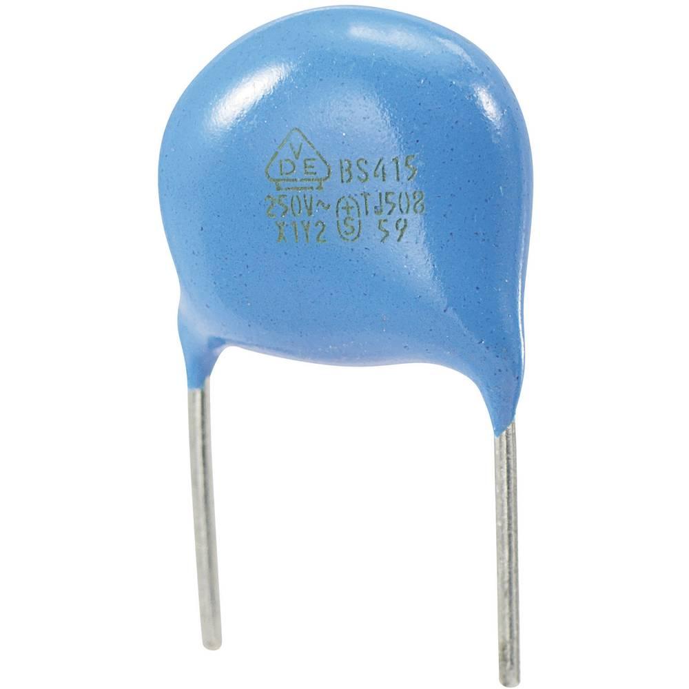 Keramički kondenzator Y2 raster 7.5 mm 680 pF 250 VAC 10 %